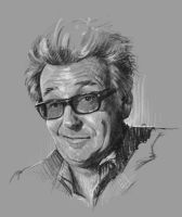 Greg Proops quick sketch by KrisCooper
