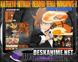 Tsuna Sawada Theme Windows 7 by Danrockster