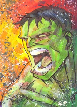 marker : Hulk by KidNotorious