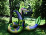 Snide the Serperior by pythos-cheetah