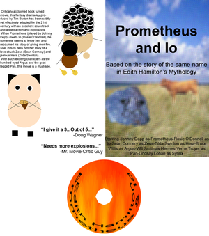 Prometheus and Io DVD