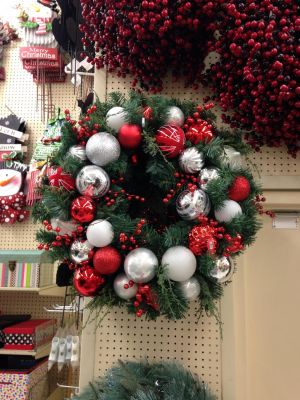 Christmas Wreath by JewelsStock