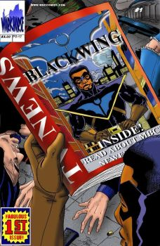 Blackwing cover by workhorsecomics