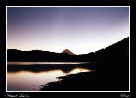 Lanin sunset by Ch1qUi