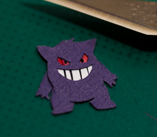 Day 9: Gengar by PlaidCushion