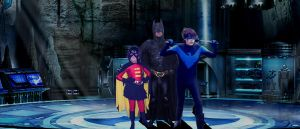 Batfamily in the Cave by batty9999