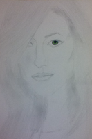 Olivia Wilde Sketch 2 by Jadious7