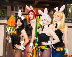 battle bunny league of legends by BlondieeGaming