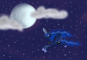 Luna in the Sky by KittyKatz547