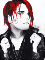 Gerard Way by Woodstockowa