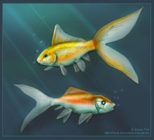 Blind Fish by iduck