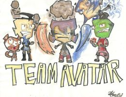 TEAM AVATAR- Painted by Cocolox