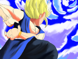 Get ready for a Kamehameha... by LucarioDX