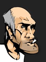 Old Angry Dude by Nicetti
