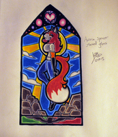Stained Glass Collection: Aurora Spencer by Anthro1