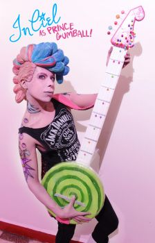 Prince Gumball - Punk Version (Adventure Time) by InCielxCPherCosplay