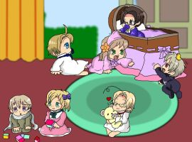 Hetalia Cuteness-Collab by Apple-Rings