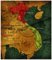 Civilization 5 Map: Vietnam by sukritact