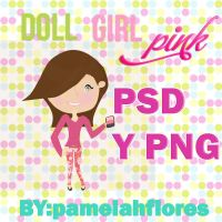 Doll Girl Pink by pamelahflores