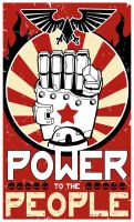 POWER(fist) to the PEOPLE by ning