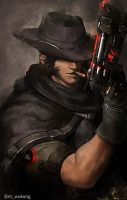 Blackwatch McCree by Meiikiko