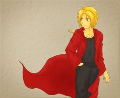 Edward Elric by ShadedLeaf