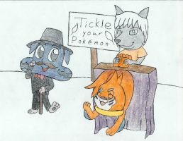 Buizel Tickled by Lu-1