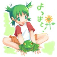 Yotsuba and Neville by lingy