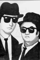 The Blues Brothers by TheLuckyStarhopper