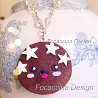 Cute and kawaii necklace by FocaccinaDesign by MGFM