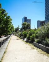 Allee Arthur Rimbaud and nature by EUtouring