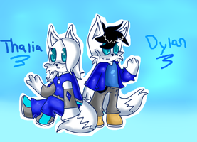:Com: Thalia and Dylan by XAcethekiddX