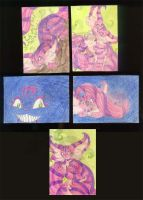 ACEO - The Cheshire Cat 6-10 by Ishaway