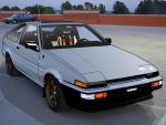 AE86. by nes03