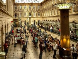 Prague - Main Post Office by pingallery