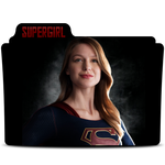 Supergirl Folder Icon by nerfAvari