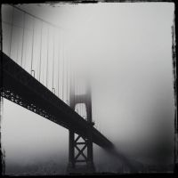 Foggy Day at the Bridge by jginn