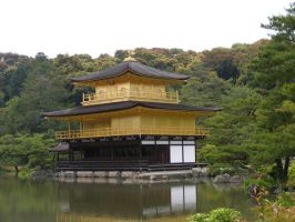 Kinkakuji by TigrisFirecatcher
