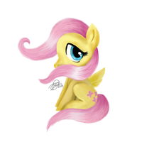 FanArt Friday: MLP Fluttershy by diegio1996
