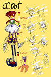 Rise- C.C. Dot ref sheet by CurlyPoCkY