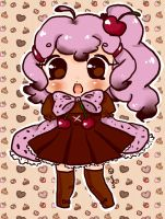 Cherry Cupcake Adopt (Mystery Desserts)CLOSED by LuciaTan