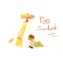 Egg Sandwich by chacckco
