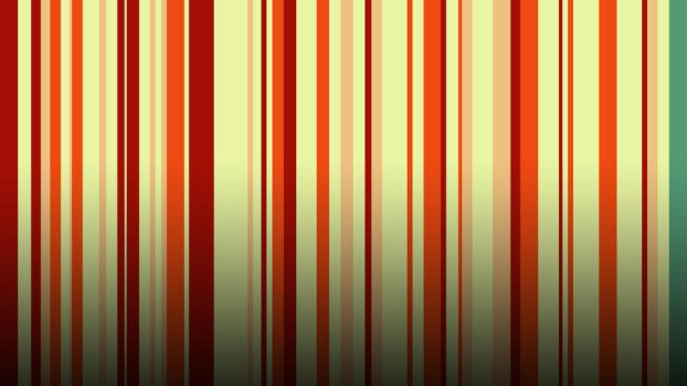 Green Striped Wallpaper by RockerX-Rx