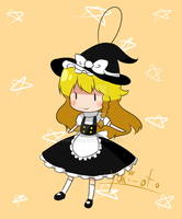 Mini Marisa Doll by yuki-oto