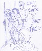 Cle - Harassed at School by kamon-san