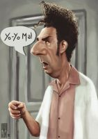 Cosmo Kramer by Parpa