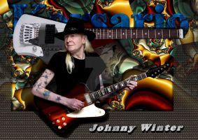 Johnny Winter by ivankorsario