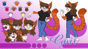 Gail Model sheet by kandlin