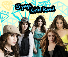 Pack Png Nikki Reed by Gabytwilightfan