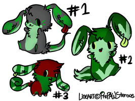 Earmouth Adoptables (green) -closed- by RRadopts